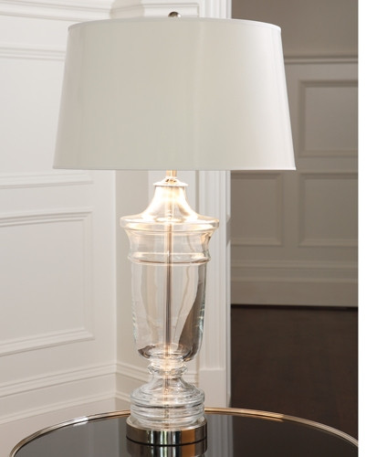 Glass Urn Lamp