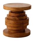 Carroll Wood Table - Light Walnut