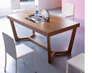 Calligaris Prince Dining Table - Walnut