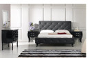 Monte Carlo 4PC Bedroom Set - Black