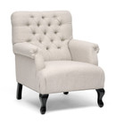 Collins Club Chair - Beige