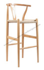 Wishbone Bar Stool - Natural