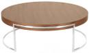Ross Round Coffee Table Walnut