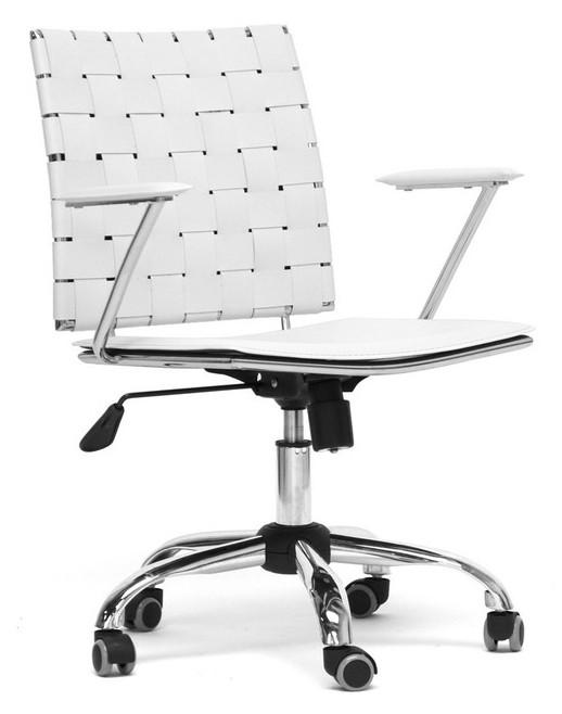 Superb Baxton Studio Vittoria Leather Modern Office Chair Interior Design Ideas Gentotryabchikinfo
