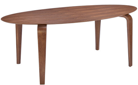 Oval Walnut Dining Table