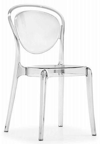 Parisienne Dining Chair Transparent