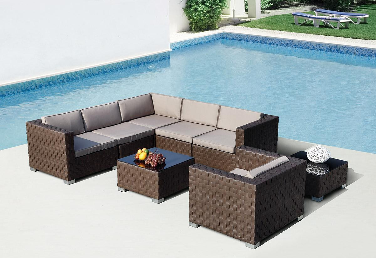 Catalina Outdoor Sectional Sofa Set