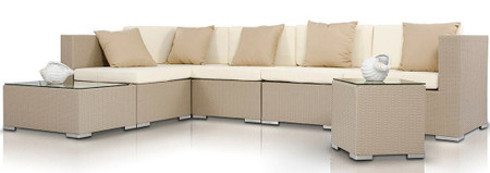 Bahama Outdoor Sectional Sofa Set