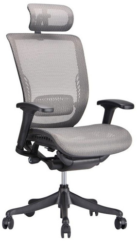 Ergo Grey Mesh Ergonomic Office Chair