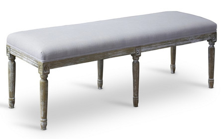 Victoria Wood French Bench