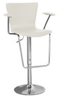 Jaques Adjustable Height Swivel Bar Stool