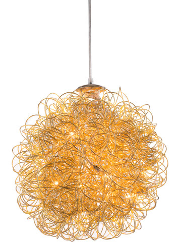 Zitto Ceiling Lamp Gold