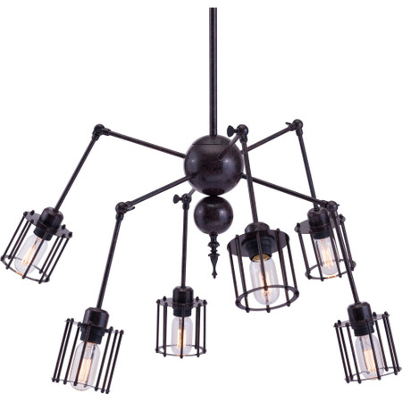 Levin Ceiling Lamp Rust