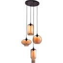 Lambie Ceiling Lamp Rust & Amber
