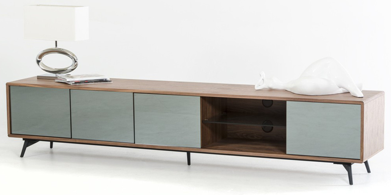 separation shoes d1abe 1cef0 Aiden Walnut TV Stand
