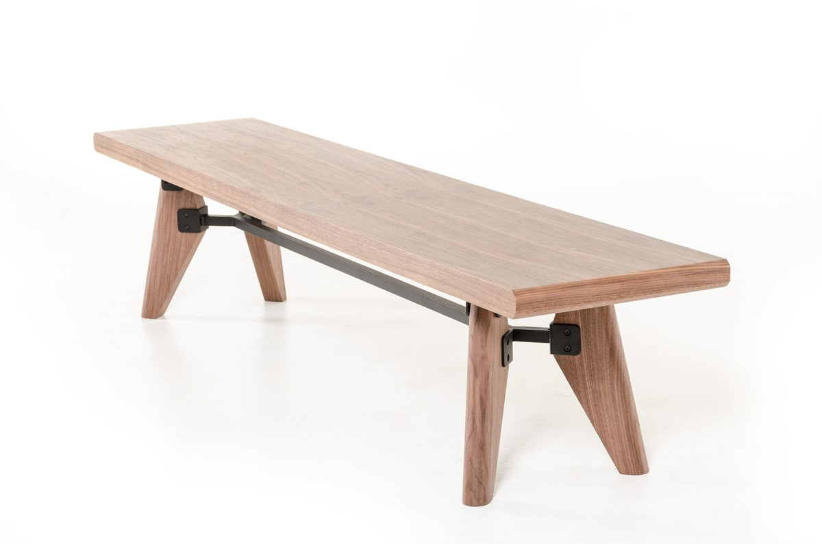 Superieur Mid Century Dining Bench