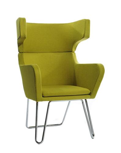 mid century living room chair