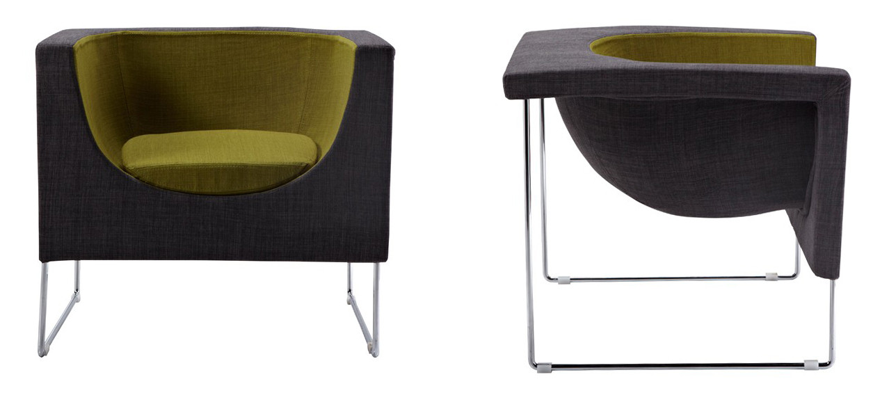 Super Roque Green And Grey Accent Chair Inzonedesignstudio Interior Chair Design Inzonedesignstudiocom