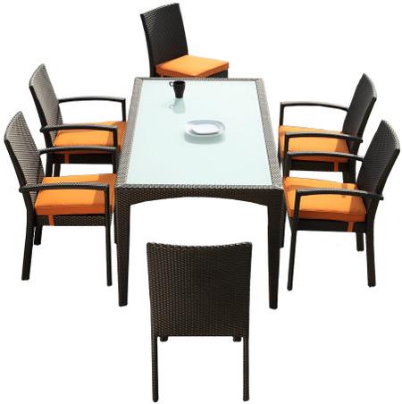 outdoor 7 piece dining set