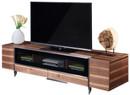 modern walnut tv stand