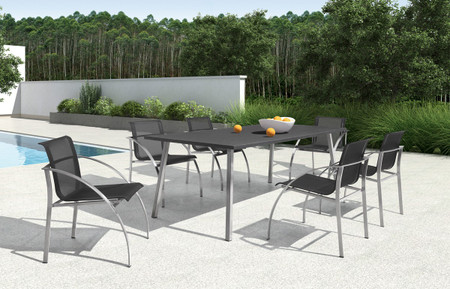 7pc outdoor dining set