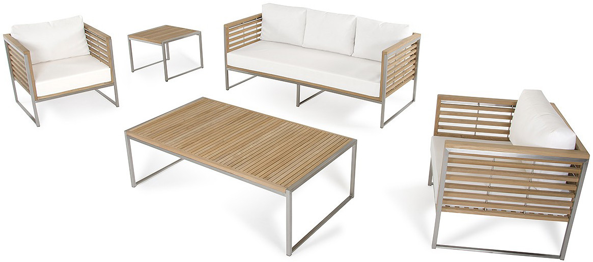 Palizzi Teak Outdoor Sofa Set