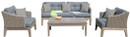 outdoor gray sofa set