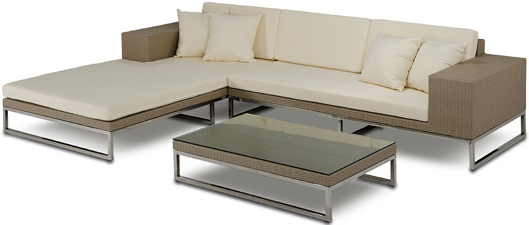The Tahiti Low Profile Outdoor Modern Sectional