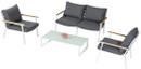 4 piece outdoor sofa set