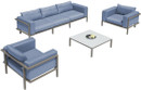 5pc outdoor patio set