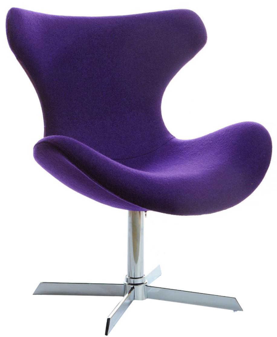 Superbe Purple Lounge Chair