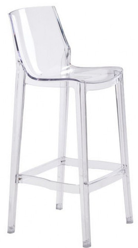 phantom bar chair clear