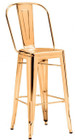 Elio Bar Chair Gold
