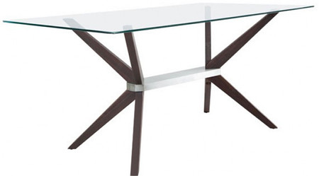 Victory Dining Table Dark Walnut