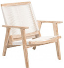 West Port Arm Chair White Was & White