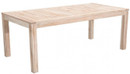 West Port Dining Table White Wash