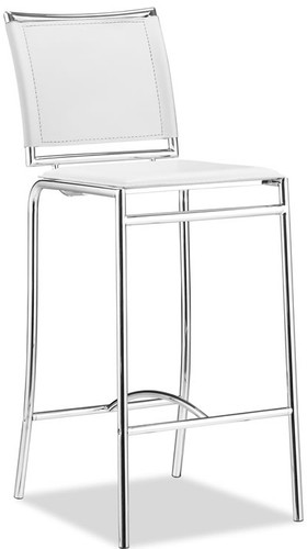 Zuo Modern Soar Bar Chair White