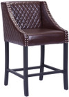 Zuo Modern Santa Ana Counter Chair Brown