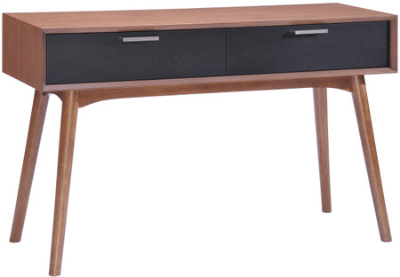 Liberty City Console Table Walnut Black