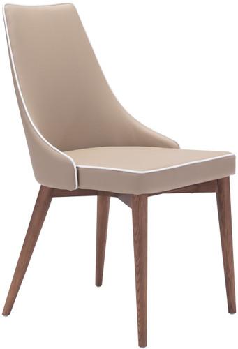 Zuo Modern Moor Dining Chair Beige