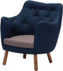 Liege Chair Cobalt Blue
