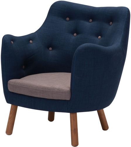 Liege Chair Cobalt Blue