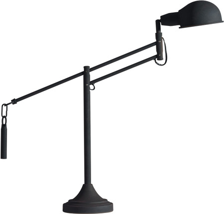 Skip Table Lamp Black Sand Granite