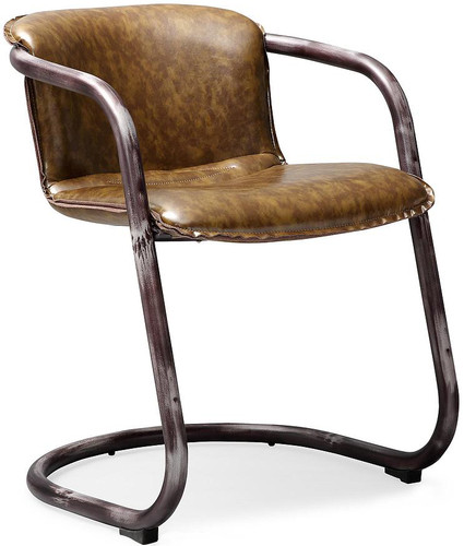 Antonio Brown Chair Eco Leather