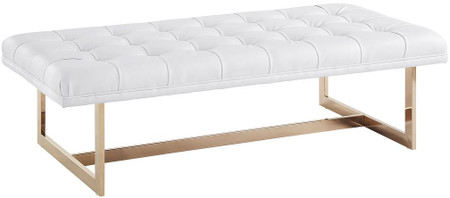 Amerigo White Bench