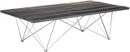 Nuevo Living Zola Coffee Table In Ebonized Oak And Stainless Steel
