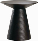 Nuevo Living Anika Side Table In Ebonized American Oak Veneer And MDF