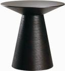 Nuevo Living Anika Side Table In Ebonized American Oak Veneer And MDF
