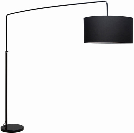 Nuevo Living Raku Floor Lamp In Black