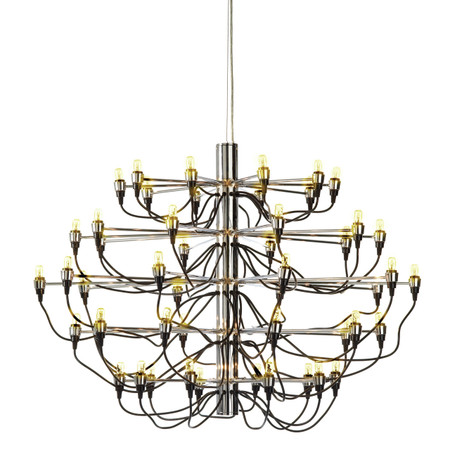 Medusa Pendant Lamp In Chrome Steel